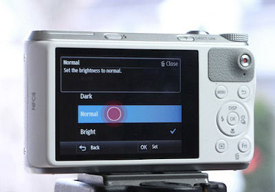 Samsung WB350F Camera Tap Normal