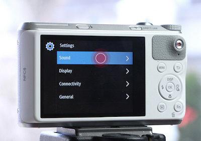 Samsung WB350F Camera Sound Volume Adjust Lower