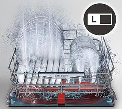 Samsung Dishwasher Waterwall Zone Booster