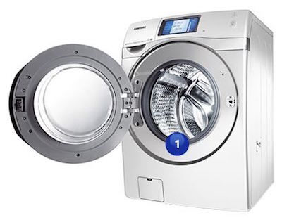 Samsung Dryer Model and Serial Number Location