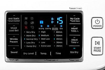 Samsung DV45K6200 Filter Check Icon