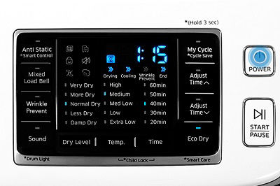 Samsung DV45K6500 Air Fluff Cycle