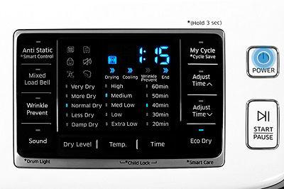 Samsung DV45K6500 Bedding Cycle