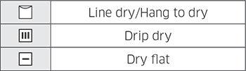 Samsung DV45K6500 Fabric Care