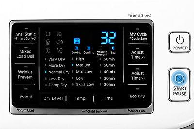 Samsung Dryer Start/Pause