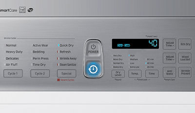 Samsung DV45K7600 Dryer with Quick Dry Cycle