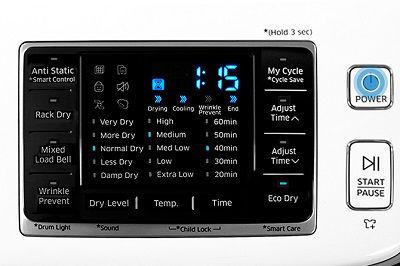 Samsung DV50K7500 Dryer Air Fluff Cycle