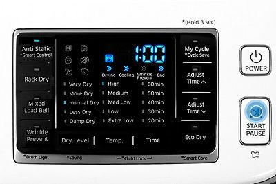 Samsung DV50K7500 Dryer Anti Static Option