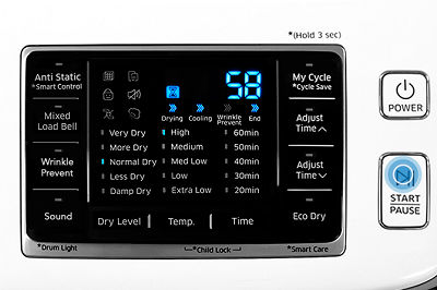 Samsung DV50K7500 Dryer Heavy Duty Cycle