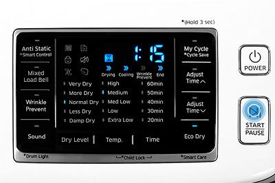 Samsung DV45K6200 Dryer Normal Cycle
