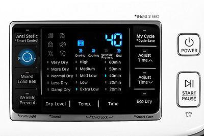 Samsung DV50K7500 Dryer Rack Dry