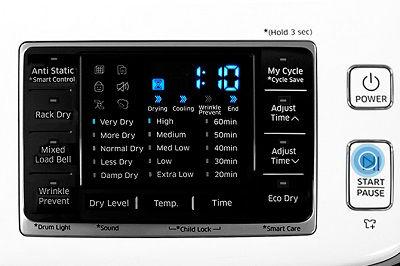 Samsung DV50K7500 Dryer Steam Sanitize Cycle