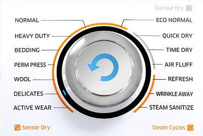Samsung DV50K7500 Dryer Delicates Cycle