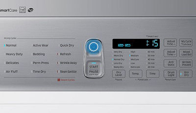 Samsung DV50K8600 Dryer with the Time Dry Cycle