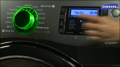 Samsung Dryer Wrinkle Prevention
