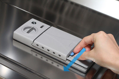 Using The Detergent Compartment In Your Dishwasher