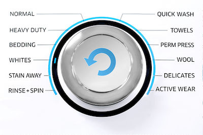 Samsung Washer Cycle Selector Dial Whites