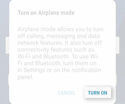 Samsung Galaxy S7 and S7 edge Using the Airplane Mode