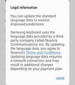 Samsung Galaxy S7 and S7 edge Adding Other Languages to the Keyboard