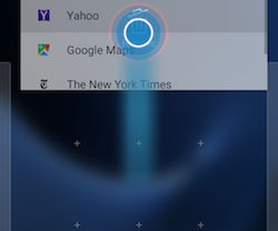 Samsung Galaxy S7 and S7 edge Adding a Widget to the Home Screen