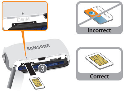 Galaxy S4 Zoom_Insert SIM card