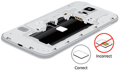 Galaxy S5 Mini_Insert SIM card