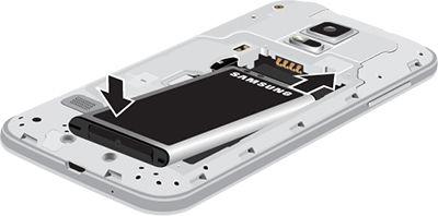 Galaxy S5 Mini_Insert battery