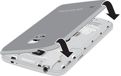 Galaxy S5 Mini_Close back cover