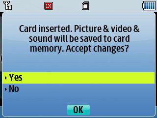 Samsung R390_microSD card_OK