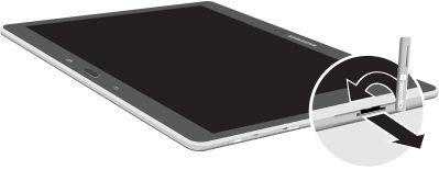 Galaxy Note Pro 12.2_Remove microSD card