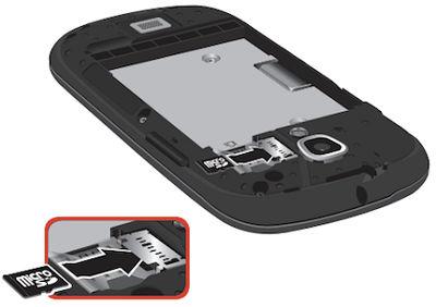 Galaxy Stratosphere II_Insert microSD card