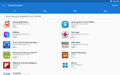 Samsung Galaxy Note 10.1 2014 Edition Access Discount Service Subscription Application
