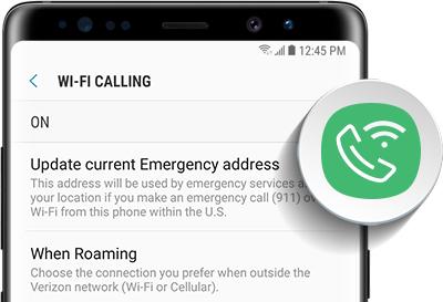 Set Up Wi-Fi Calling