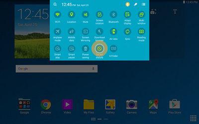 Samsung Galaxy Note Pro 12.2 Do Not Disturb