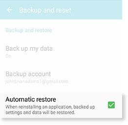 Samsung Galaxy S5 Active Back Up Restore