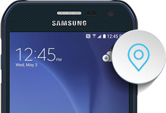 Samsung Galaxy S6 Active Location Settings
