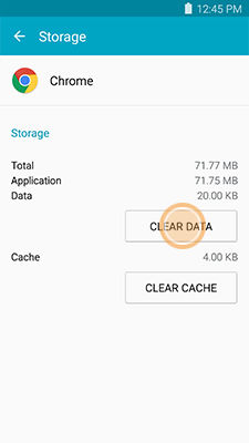 Samsung Galaxy MEGA2 Clearing the App Data and Cache