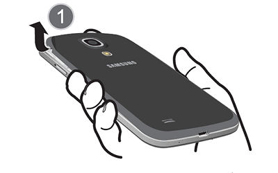 Samsung pull the cover off