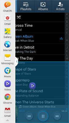 Samsung Galaxy S4 Multi Window Multitask Mode