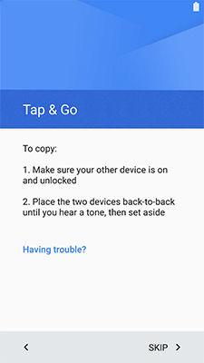 Samsung Galaxy S5 Sport Transfer Data Google Account NFC Compatible Device