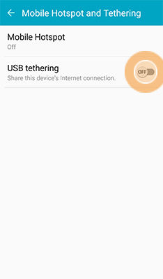 Samsung Galaxy S6 Active Set Up Mobile Hotspot or Tethering