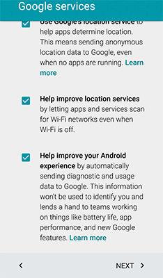 Samsung Galaxy Mega 2 Transfer Data Google Account NFC Compatible Device