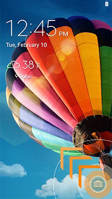 Samsung GalaxyS4 Lock Screen Open Camera
