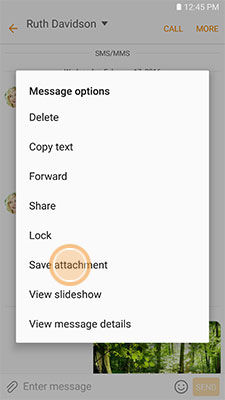 Samsung Galaxy S6 Save Multiple Attachments