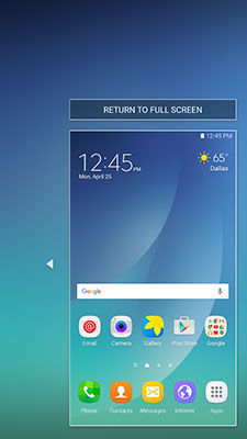 Samsung GalaxyS6 edge+ Reduce Screen Size