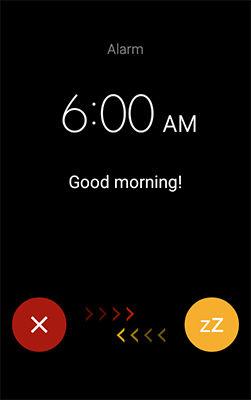 Samsung Stop or Snooze an Alarm