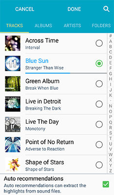 Samsung Galaxy S4 Active Set Music File Ringtone