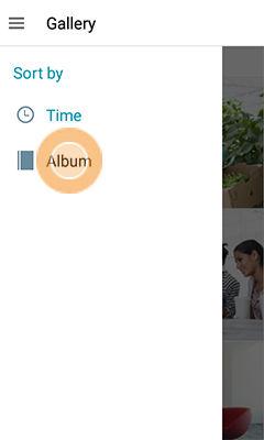 Samsung Galaxy J1 Gallery Album