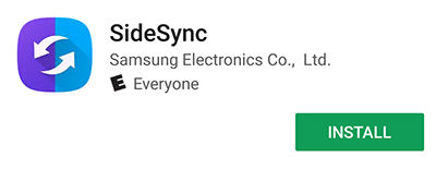 Samsung Device Download and Install SideSync
