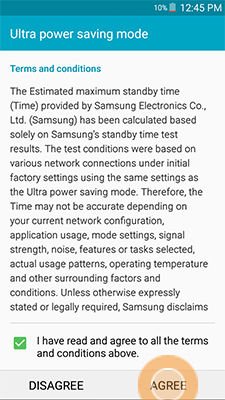 Samsung Galaxy Mega 2 Do Not Disturb